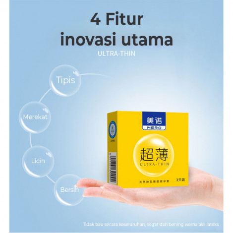 Hotel Special Condom 3pc Pack