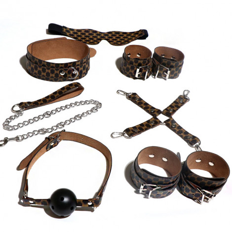 SM Colorful Leather 7pc Set