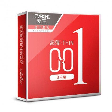 Hotel Condom 001 3pc Pack