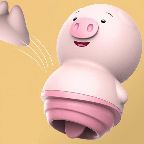 Alat bantu wanita oral sex pig Vibrating clitoris