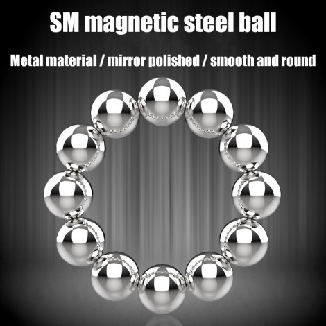 Strong magnetic attraction ball massage