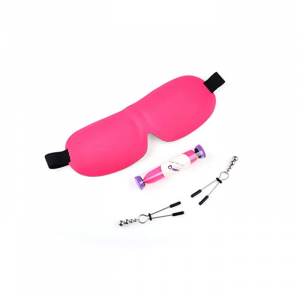 OMPH SM GIFT EYE MASK LOVE BALL VIBRA