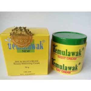 Cream Temulawak Day & Night Original Asli Pemutih Wajah Cream hn