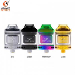 Oumier WASP Nano 23mm RTA Vape Rebuildable Dripping Tank Atomizer