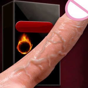 Penis Vibrat Medium With Heating USB