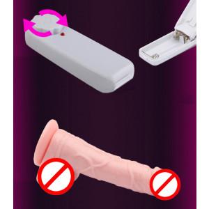 Big penis vibrat and shak-battery