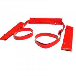 SM Split Leg Strap - Red