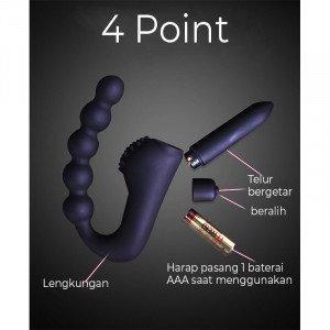 Prostate massager orgasm wearing anal g-spot