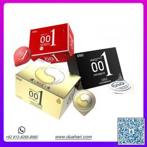 001 Natural rubber ultra-thin condom 10pc